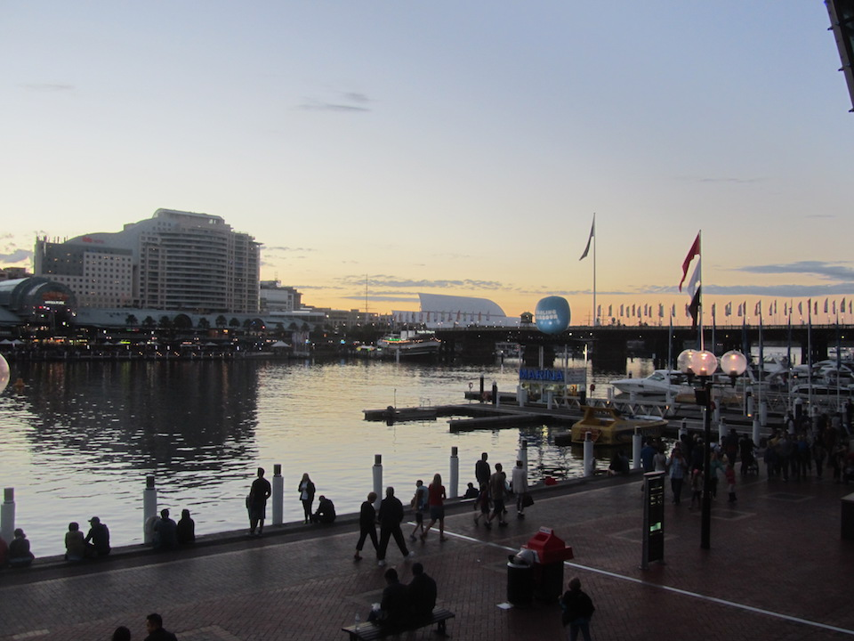 Itinerario di Sydney a piedi