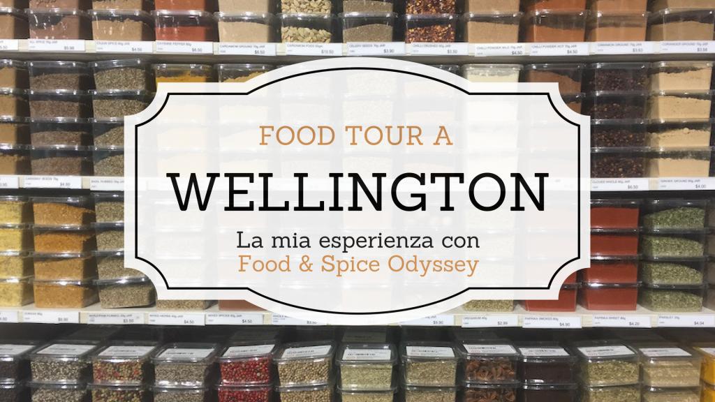 food tour a Wellington