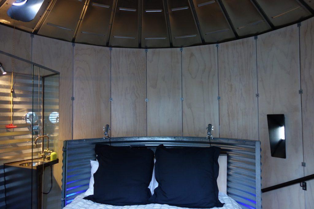 dormire in un silo