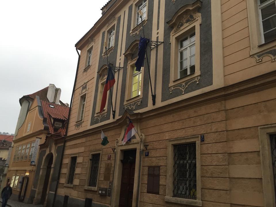 Malá Strana a Praga