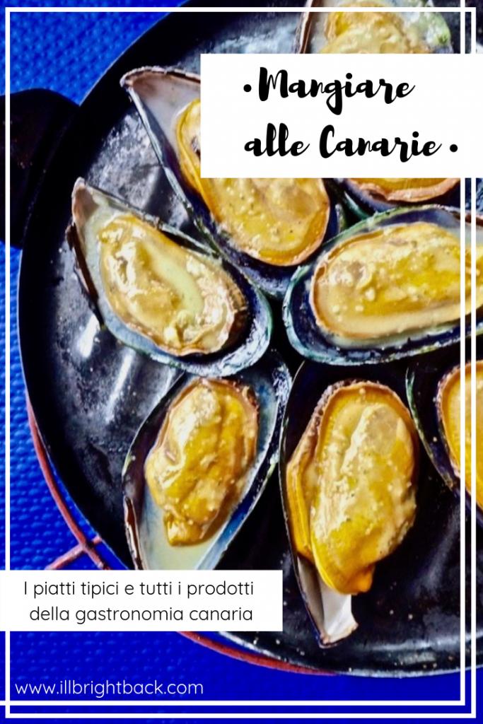 Cosa mangiare alle Canarie - Copertina Pinterest
