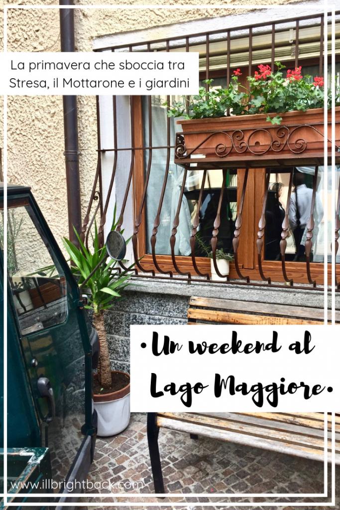 Weekend al Lago Maggiore - Copertina Pinterest