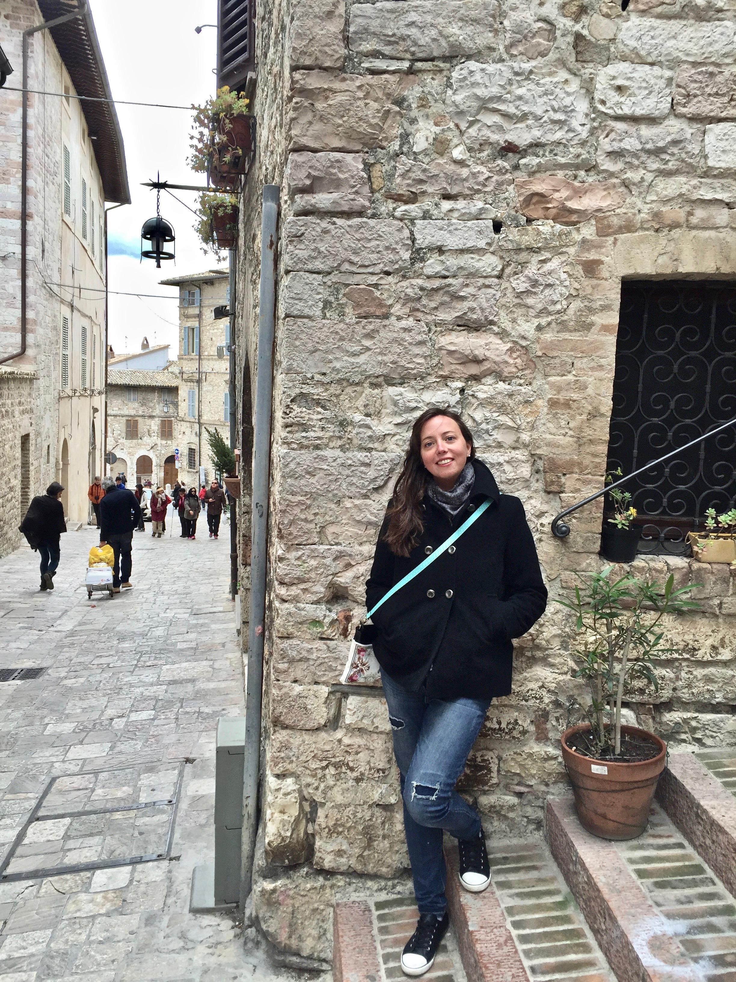 festeggiare in viaggio - Assisi