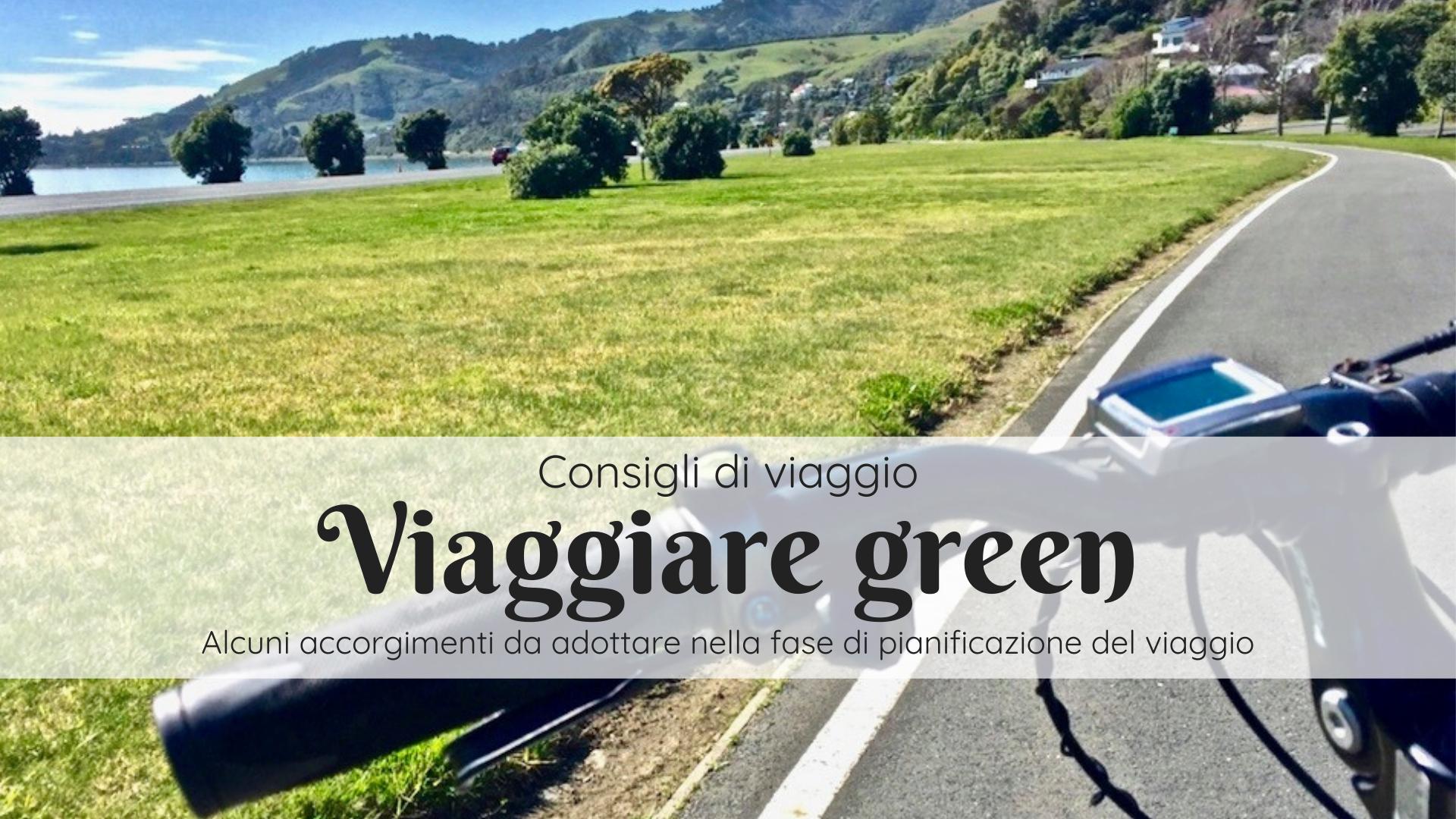 Viaggiare green
