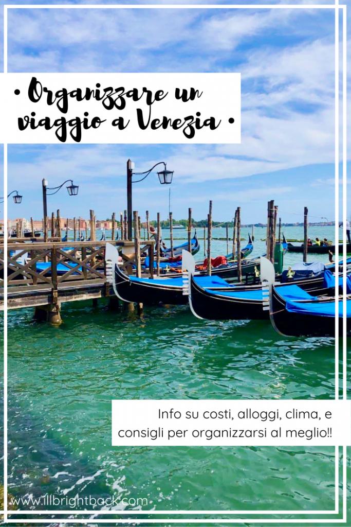 organizzare un viaggio a Venezia