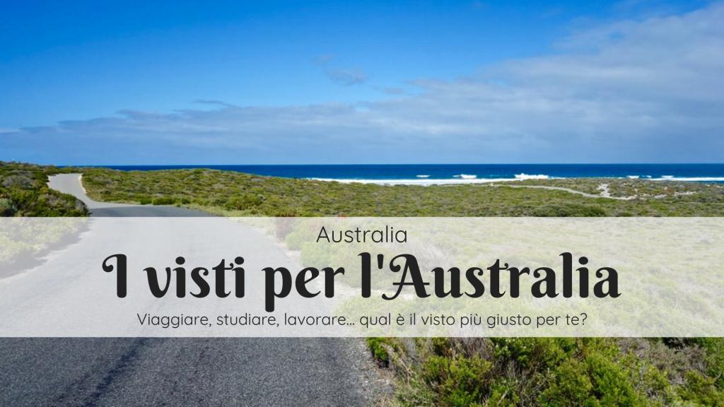 visto per l'Australia